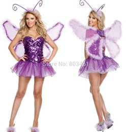 Wholesale Sexy Sporty Girls - Women's Costume Signature Butterfly Halloween Costume sexy costumes Seductive Girl adult costume