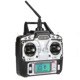 Wholesale 6ch Rc Receiver - Original Flysky FS-T6 High Precision 2.4GHz 6CH Mode 2 Transmitter W Receiver R6-B for RC Multirotor Quadcopter Helicopter order<$18no track