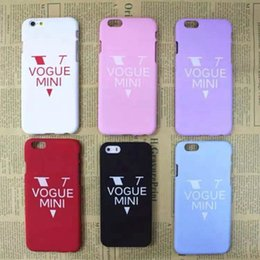 Wholesale Iphone Glow Cover - nigh light glow luminous matt frosted VOGUE MINI case cover skin for iPhone 5 iPhone 6 iPhone 6 Plus luminous case with packing
