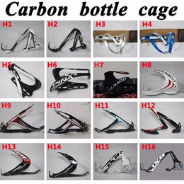 Wholesale Elite Water Bottle Cages - 1Pair * New carbon fiber bicycle water bottle cage Elite Road Bike carbon water bottle holder more colors, Free shipping