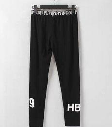 Wholesale Design Dance Pants - Wholesale-2015 brand mens hiphop leggings HBA 69 print on legs mens legging lovers design swag trousers bandana dancing pants 900B