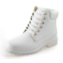 Wholesale Yellow Boots For Girls - Autumn Winter Women Ankle Boots Fashion Woman Snow Boots for Girls Ladies Work Shoes Plus Size