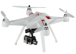 Wholesale Remote Controlled Flight - Quadcopter Drone with HD Camera 1080p FHD FPV live Video Camera Flight Time 35 mins Standard+yuntai+Camera+Image display Camera Drones