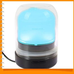 Wholesale Mini Humidifiers - 100ml Mini Air Humidifier for Home Aromatherapy Essential Oil Diffuser Aroma Diffuser Mist Maker with 7 Color Changing LED Light