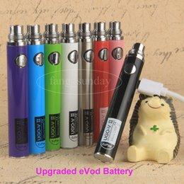 Wholesale Ego V Adjustable - Vape Pen Battery eCigarette eGo T Passthrough batteries 650 900mAh Ugo V II Ugo T Micro USB Battery for Ecig atomizer