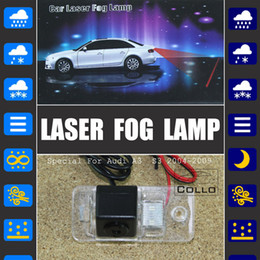 Wholesale S3 Laser - Wholesale-Special For Audi A3   S3 2004~2009 Car Laser Fog Lamp Rear Anti-Collision Driving Safety Signal Warning Lamp