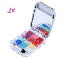 2019 placas congeladas Atacado-12 cores lip gloss batom duração placa hidratante cristal brilhante lip freeze maquiagem batom placas congeladas barato