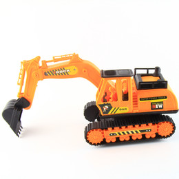 Wholesale Large Toy Excavator - freeshopping Creative toys, children's toys large engineering excavator Novel and fun little smart kids like to play with toys