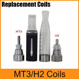 Wholesale Gs H2 Atomizer Coil - Universal Coils MT3 Coils H2 Coils For MT3 GS H2 Clearomizer Atomizer Detachable Replacement Coil Free Shipping
