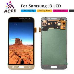 Wholesale Hot Touch Digitizer - Hot Selling LCD For Samsung Galaxy J3 J320 J320A J320M J320P 2016 LCD Display Touch Screen Digitizer Assembly Replacement Parts+Free DHL