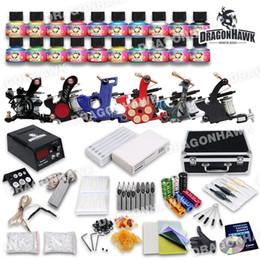 Débutant Nouveau kit de tatouage 6 mitrailleuse 20 Éclairage de couleur des États-Unis (Immortel) Tip Ensembles d'alimentation Aiguilles D187GD-9 ? partir de fabricateur