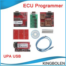 Wholesale Top Programmer Usb - 2017 Top selling UPA USB Serial Programmer Full Package V1.3 Popular Eeprom Universal Chip Programmer auto ECU Tool DHL Free Shipping