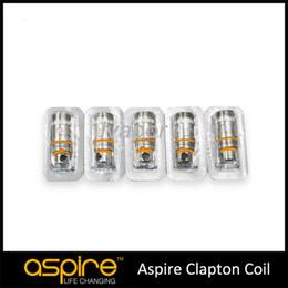 Atomizador de triton on-line-100% Aspire Triton 2 algodão orgânico trocável 0.5ohm Para o mais novo Aspire Triton 2 Atomizador clapton Bobina Frete Grátis