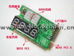 Wholesale Diagnostic Test Pc - PC diagnostic card, motherboard test card, laptop diagnostic card Mini PCI-E&PCI&LPC 3in1 order<$18no track