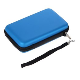 Wholesale Nintendo 3ds Xl Cases - Fashion Blue Hard EVA Handy Carry Case Cover Bag Pouch for Nintendo 3DS XL LL Protective Case Bag for Nintend Game Accessories