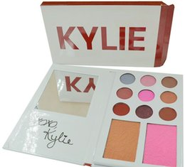 Wholesale Valentines Wear - Hot Kylie diary Kylie's Diary Eyeshadow Kylie VALENTINES DIARY Eyeshadow & Blush Palette kylie valentines collection kyshadow 11 Colors
