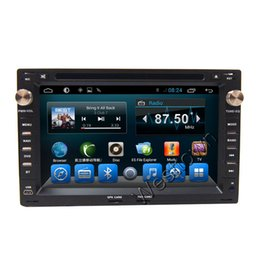 Wholesale Car Dvd Gps Navigation System - Car dvd player touch screen din gps navigation system built in camera input wifi audio Volkswagen Spacecross Fox Spacefox Crossfox Passat B5