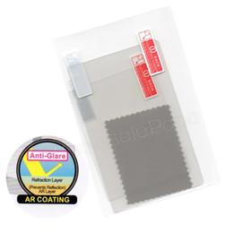 3ds ll xl online-Al por mayor-Protective Clear UpDown Screen Protectors Guard Set Touch Protect Seal Film para NUEVA 3DS XL / LL