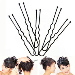 60Pcs / set Ragazza Waved Hair Bobby Pins Barrette Grip Clip Forcine Salon da