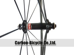 Wholesale Road Racing Bicycle Wheels - Wholesale-Only 1460g ultra light 50mm clincher carbon bicycle wheels 700c carbon fiber road bike racing wheelset