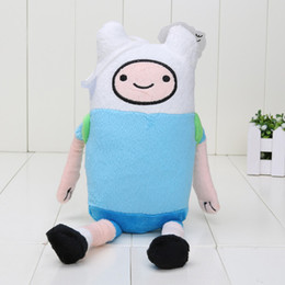 Wholesale Ice King Adventure Time - Wholesale-5pcs lot 15-31cm Adventure Time Finn Jake BMO Ice King Penguin Plush toys Soft Stuffed Anime Dolls packed in opp bag