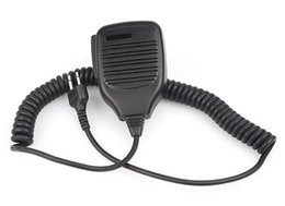 Wholesale Icom Handhelds - New Handheld Shoulder Speaker MIC Microphone for ICOM IC-F3  IC-F3S  IC-F4 Radios 2 Pin Jack J0306A Alishow