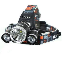Wholesale 3x Cree Flashlight - 5000 lumen 3x CREE XM-L 3T6 LED bike light Headlight flashlight head for hunting camping