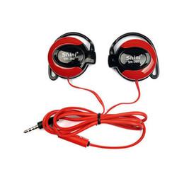 Cuffie per telefoni online-Shini 360 Earphone Hook Hook 3.5mm Cuffia stereo da jogging Cuffie da jogging per Iphone Samsung Xiaomi Huawei