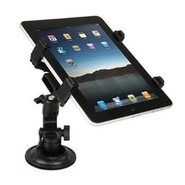 Wholesale Ipad2 Car - Tablet PC Stand newest Tablet PC Stand Car Mount Holder Plastic Material Multi-Direction Stand Car Holder for Apple iPad