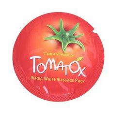 Wholesale Tonymoly Wholesale - 2000pcs lot 2015 Free Shopping Korea Original Tonymoly Tomatox Magic Massage pack whitening moisturizing 3 minute effective mask Cream 1ml