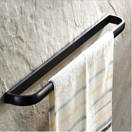 porte-serviettes en bronze Promotion Barre de serviette de salle de bains en bronze huilé en gros et au détail avec support unique Towerl Rack Bar fixé au mur