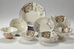 Wholesale Blue Dishes China - Crystal Cat Series Bone China tableware apan made ceramic bowls, dishes, crystal cat series, bone China, porcelain tableware, blue series, c