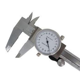 Wholesale Dial Micrometer Caliper - New Dial Caliper 0-150mm   0.02 Shock-proof Stainless Steel Vernier Caliper Metric Micrometer Gauge Measuring Tool