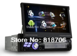 Wholesale Dvd Dvb Android Wifi - 1din car dvd gps 7inch android 4.0 car radio player with WiFi 3G IPOD DVB-T MPEG2 1GHz CPU 1GB RAM Free shipping