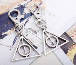 Wholesale Potters Tools - Wholesale-U95-Hot Movie Deathly Hallows Mini Metal Tool Key Chain Keyring For Harry Potter Free shipping