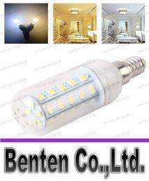 Wholesale Corn Cover 7w - LLFA7895 LED Light Warm White E27 LED Bulbs 7W 9W 12W 15W 18W 3000 Lumen Cree SMD 5730 With Cover 56 leds GU10 E14 B22 G9 Corn Led lights