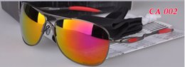 Wholesale Red Frame Safety Glasses - Metal frame 4060 Hot New design safety glasses goggles,High Quality Men women designer cycling sport sunglasses