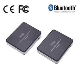 Wholesale Hifi Active Speakers - 3.5mm audio port 2.4G Bluetooth Wireless 3.5 mm Audio Adapter Sounds Music Transmitter + Receiver HIFI PC TV Speaker US Plug