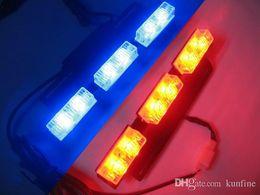 2019 feux-éclair d'avertissement d'incendie Voiture LED Strobe Light Avertissement de voiture Lampe de poche Led Barre de guidage Haute Qualité Conseillers en circulation Lumière KF-L3024
