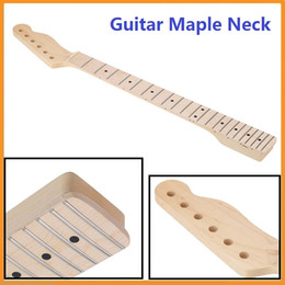 Wholesale Dot Inlay - Brand New New 22 Frets Electric Guitar Maple Neck and Fingerboard Dot Inlay for Replacement Durable Guitar Parts
