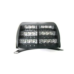 Wholesale windshield strobe - LED Emergency Strobe Lights Flash Car For Windshields Dashboard light 18 LED Green color