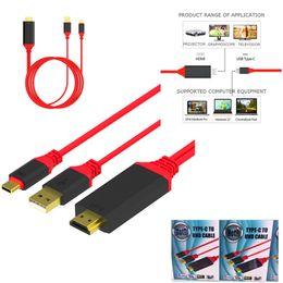2019 hdmi samsung phone 3.1 USB Тип C к HDMI конвертер 4K 30 Гц 3D1080P HDTV внешний Видео Графика расширить кабель-адаптер для ТВ телефон MacBook S8Note 8 LG5 HTCM10 дешево hdmi samsung phone