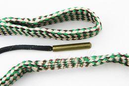 Wholesale Bore Snake Shotgun - Wholesale-Hunting 7.62mm Bore Snake Cleaner Gun Cleaning cal .308 30-30 30-06 .300 .303 .30 Rifle Shotgun Boresnake