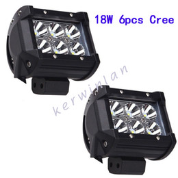 led work lamp bar prices - LED Work Light 6led 18W Cree Bar Lamp for Motorcycle Tractor Boat Off Road IP67 Truck Spot Flood Beam Driving lamp bar