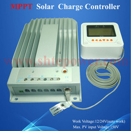Wholesale Solar Battery Controller Mppt - free shipping ce rohs approved dc to dc battery charge mppt control 40a 12v solar charge controller