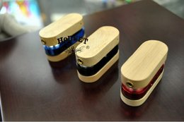 Wholesale Monkey Metal - Super Folding Wooden Pipe Foldable Wood Pipes Wood and Metal Smoking Pipe Similar as Monkey Pipes Tobacco Pipe Portable Vaporizer