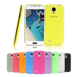 Wholesale Galaxy S4 Drop - New Ultra Thin 0.3mm Matte Clear Case Cover for Samsung Galaxy S4 IV i9500 i9505 Free & Drop Shipping
