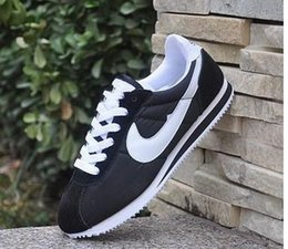 Wholesale Outdoor Print Fabric - high quality Hot new brands Casual Shoes men and women cortez shoes leisure Shells shoes Leather fashion outdoor Sneakers size 36-44