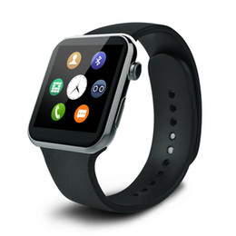 Wholesale Touch Watches Wholesale - Fashion Watch Phone F2 Bluetooth WristWatch Smart Watch With Leather Strap Wifi Wrist Watch Pedometer Heart Rate Smart Touch Screen Watches