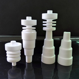 Wholesale M Nail - 10PCS M F Ceramic 6 in 1 Domeless Nail 10mm 14mm 18mm in stock